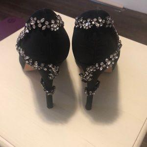 Badgley Mischka Fidel heels in 8.5 black